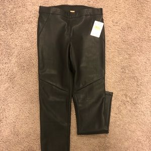 NWT Free people leather leggings
